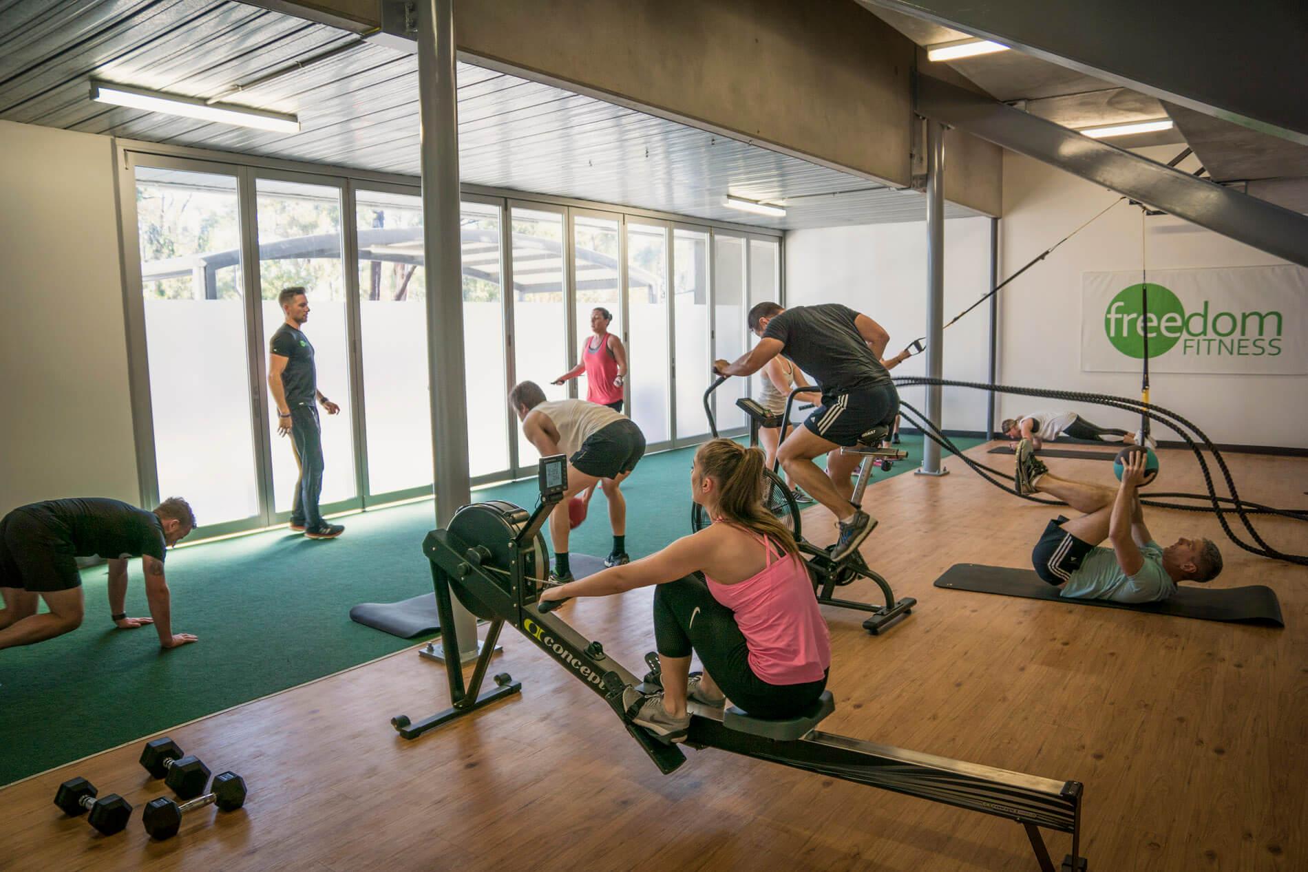 group-fitness-training-hobart-freedom-fitness-hobart-gym-near-me